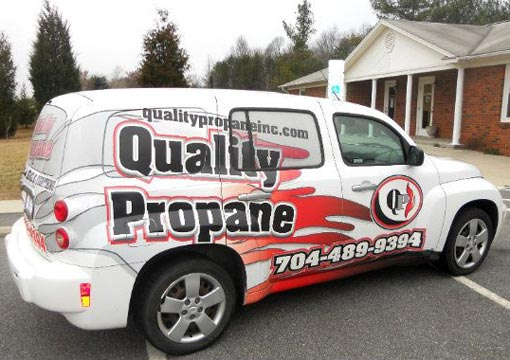 Quality Propane Truck