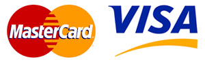 MasterCard & Visa logos